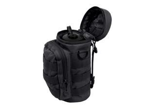 Rothco Water Bottle Survival Kit With MOLLE Compatible Pouch, Black