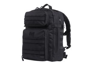 Rothco Fast Mover Tactical Backpack, MOLLE & Hydration Bladder Compatible, Black