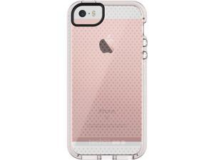 Tech21 Evo Mesh FlexShock Case for iPhone 5/5s/SE - Clear/White