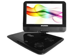 "SYLVANIA SDVD9000B2 9"" Swivel-Screen Portable DVD Player"