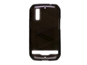 Sprint Dura-Gel Case for Motorola MB855  (Black)