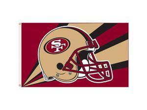 Fremont Die- Inc. 94205B 3 Ft. X 5 Ft. Flag W/Grommetts - San Francisco 49Ers