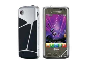 LG Chocolate Touch VX8575 Replica Dummy Phone / Toy Phone (Chrome & Black) (Bulk Packaging)