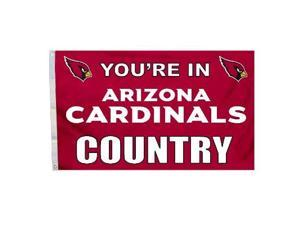 Fremont Die Inc Arizona Cardinals Flag With Grommetts Flags