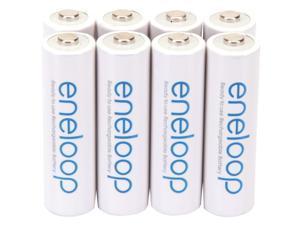PANASONIC BK-3MCCA8BA eneloop(R) Batteries (AA; 8 pk)