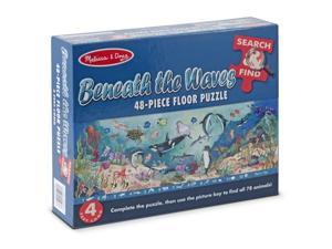 Melissa & Doug Search & Find Beneath the Waves Floor 48 pc