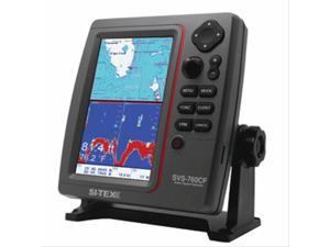 SI-TEX SVS-760CF Marine Chartplotter Sounder - Dual Frequency - 600W