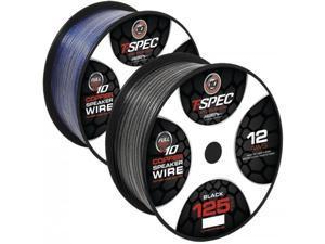T-spec V10sw12125-BK Speaker Wire (125ft&#59; 12 Gauge)