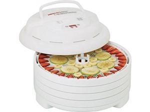 Nesco FD-1040 Gardenmaster Food Dehydrator, White, 1000-watt