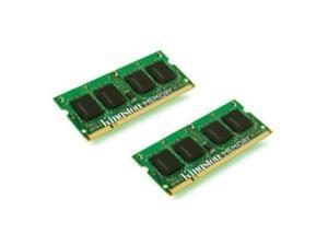 Kingston ValueRAM 8GB Kit (2x4GB) 1333MHz DDR3 Non ECC CL9 SODIMM SR x8 Notebook Memory KVR13S9S8K2/8
