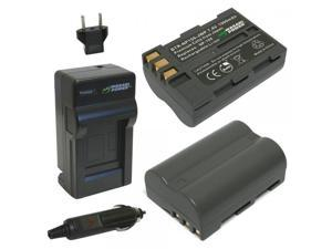 Wasabi Power Battery (2-Pack) and Charger for Fujifilm NP-150 and Fuji FinePix IS Pro, S5 Pro