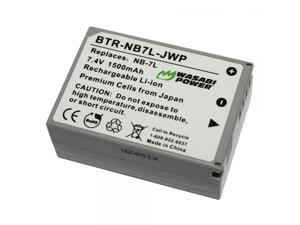 Wasabi Power Battery for Canon NB-7L and Canon G10, G11, G12, PowerShot SX30 IS