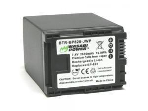 Wasabi Power Battery for Canon BP-828 and Canon VIXIA HF G30, XA20, XA25