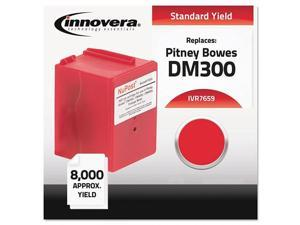 Innovera Compatible with 765-9 Postage Meter, 8000 Page-Yield, Red