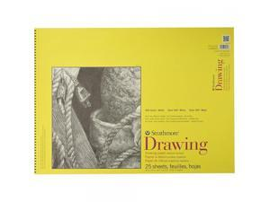 Strathmore STR-340-318 25 Sheet Drawing Pad, 18 by 24