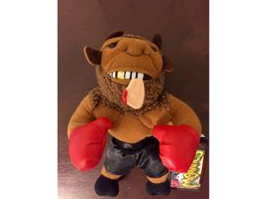 Meanies Mike Bison Tyson (Infamous Series 1) Ear in Mouth Plush Toy by Idea Factory
