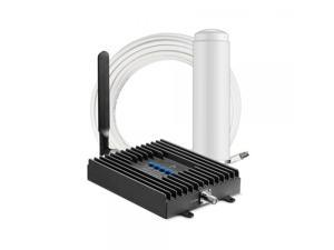 SureCall Fusion4Home Omni/Whip, Cell Phone Signal Booster Kit for All Carriers 3G/4G LTE up to 2,000 Sq Ft