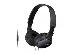 SONY  Black  MDRZX110AP/B  OH Headphone w mic/remote