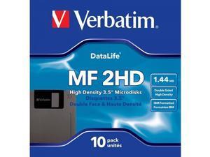 Verbatim 3.5In HD 1.44MB Pre-Fmt IBM 10Pk (Discontinued by Manufacturer)
