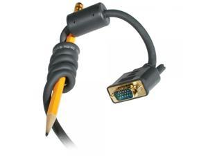 C2G/Cables to Go 28243 Flexima VGA Monitor Cable M/M - In-Wall CL3-Rated (6 Feet, Gray)