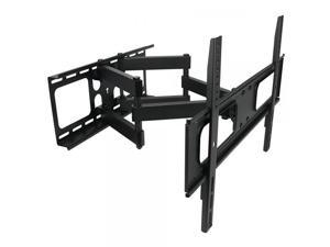 MegaMounts Full Motion Double Articulating Wall Mount for 32-70 Inch Displays
