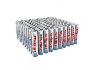 Combo: 100 pcs Tenergy Premium AAA 1000mAh NiMH Rechargeable Batteries