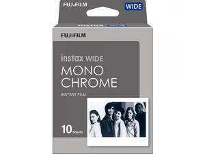 Fujifilm Instax Wide Monochrome Film, White (16564101)