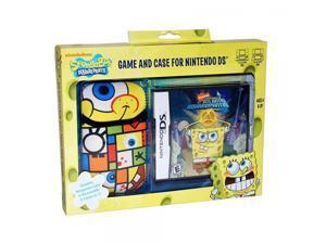 Spongebob Atlantis Squarepantis NDS Game and Sakar NDS Case Bundle