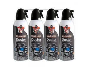 Dust-Off Disposable Compressed Gas Duster, 10 oz Cans, 4 Pack