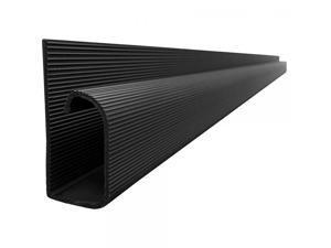"""J Channel Cable Raceway - Black - 48"""" Length"""
