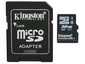 Professional Kingston MicroSDHC 32GB (32 Gigabyte) Card for Samsung GALAXY Tab 2 (7.0) Phone with custom formatting and Standard SD Adapter. (SDHC Class 4 Certified)