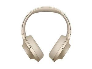 sony whh900n h.ear series wireless overear noise cancelling high resolution headphones international version/seller warranty gold