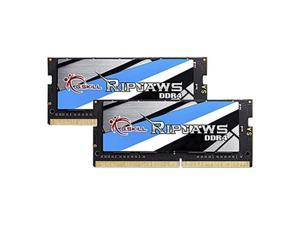 g.skill 32gb 2 x 16g ripjaws series ddr4 pc419200 2400mhz 260pin laptop memory model f42400c16d32grs