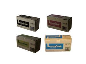 kyocera mita part# tk572k. tk572c. tk572m. tk572y toner cartridge set oem