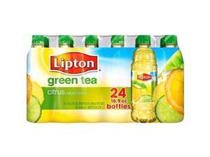 lipton green tea with citrus  24/16.9oz bottles