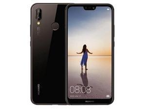 Huawei P20 Lite ANE-LX3 32GB Unlocked GSM Phone w/ Dual 16MP|2MP Camera - Midnight Black