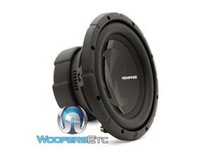 """15prx1044  memphis audio 10"""" 250w rms dual 4ohm voice coil power reference series subwoofer"""