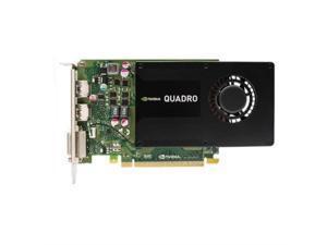 PNY NVIDIA Quadro K2200 4GB GDDR5 DVI/2DisplayPorts PCI-Express Video Card VCQK2200-PB