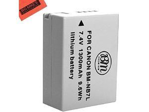 BM Premium NB-7L Battery For Canon PowerShot G10, G11, G12, SX30 IS Digital Camera