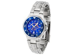 Boise State Broncos Women's Stainless Steel Dress Watch