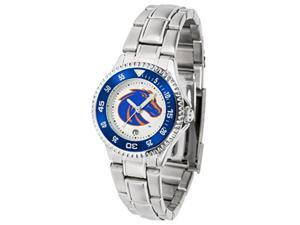 Boise State Broncos Ladies Stainless Steel Watch