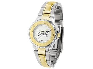 NCAA Akron Zips Competitor Ladies' Two-Tone Watch