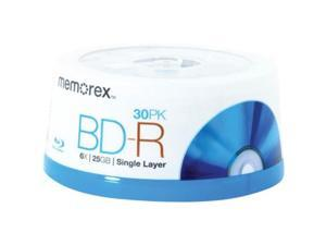 Memorex 25 GB 6x Blu-Ray Disc BD-Rs (30-ct Spindle)