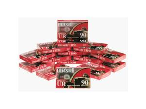 MAXELL NORMAL BIAS UR-90 (15-Pack) Standard Size Cassettes