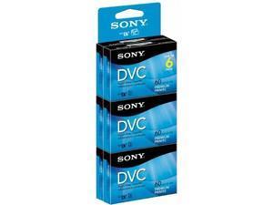 Sony DVM60PRR/6 Premium Digital Video Cassette Brick - 6 Pack