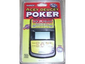 acey deucey electronic handheld poker game by radica