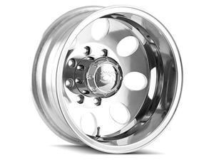 """Ion 167 Dually Rear 16x6 8x6.5"""" -125mm Polished Wheel Rim 16"""" Inch"""