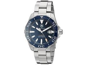 tag heuer men's 'aquaracr' swiss automatic stainless steel sport watch model: way211c.ba0928