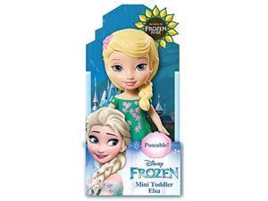 disney frozen fever toddler elsa mini poseable doll