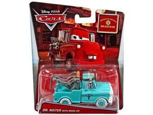 disney/pixar cars mater's tall tales dr. mater with mask up rescue squad mater diecast vehicle